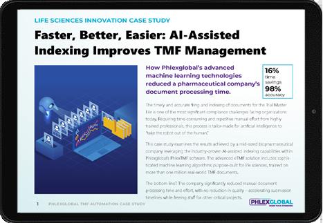Case Study AI for TMF