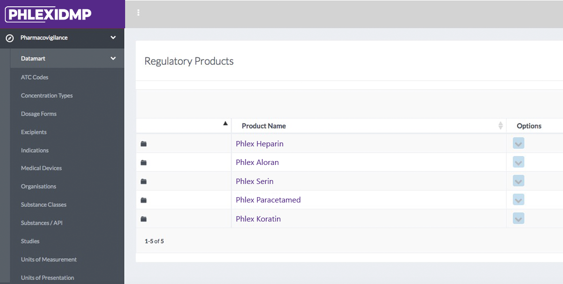 IDMP Regulatory Product Phlexglobal