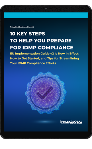 IDMP Checklist on Table